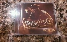 MINISTRY : ENJOY THE QUITE - LIVE AT WACKEN 2012 UDR 2013 SEALED! NEW!