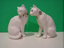 LENOX FIRST KISS Two CAT Sculpture set NEW in BOX with COA Kitten