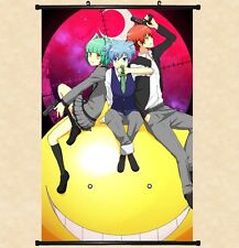"Hot Japan Anime Assassination Classroom Home Decor Poster Wall Scroll 8""x12"" 06"