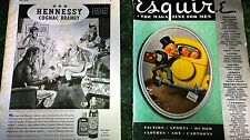 June 1940 Issue - Esquire Magazine Pin Ups and Hobby's Secret.