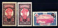 MARTINIQUE - MARTINICA - 1922-1927 - Francobolli del 1908-1918 soprastampati con