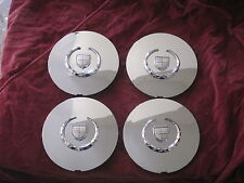 Cadillac Deville DTS DHS Seville chrome wheel center caps hubcaps SET OF 4 NEW