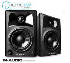 M-AUDIO AV42 - Two Way Active powered Studio / Monitor/ Reference Speakers -PAIR