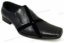 Men's Dress Shoes Fashion Casual Loafers Slip On Tapered Toe Italian Style Sizes