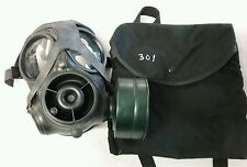 AVON CBRN s10 ar10 Respirator Gas Mask W/ Bag And Filter.  Size 3 small msaglot
