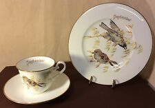 Heinrich Villeroy & Boch Country Diary Victorian Lady cup/saucer/plate September