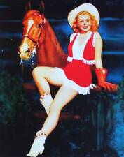 Cowgirl with Horse by Walt Otto vintage art