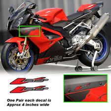v60 decals fits all aprilia vtwin models