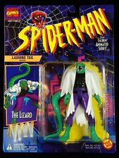 "1994 TOY BIZ MARVEL SPIDER-MAN (ANIMATED) LIZARD (BLACK SHIRT) 5"" FIGURE MOC"