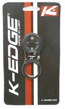 K-Edge Steerer Tube Mount Adjustable Black for Garmin