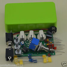 Build your own DIY Distortion Guitar Effect Pedal DS-1 green Full Kits And 1590B