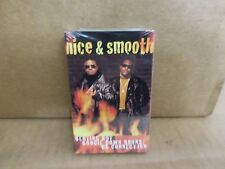 NICE AND SMOOTH BLAZING HOT BOOGIE DOWN BRONX FACTORY SEALED CASSETTE SINGLE