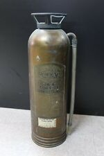 "VINTAGE 24"" GENERAL FIRE GUARD COPPER FIRE EXTINGUISHER QUICK AID"