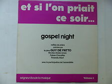 guy DE FATTO Et si l on priait ce soir .. Gospel night 22192