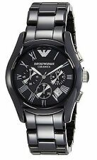 NWT Emporio Armani Men's AR1400 Ceramica Analog Display Analog Quartz Watch