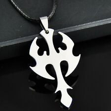 cool MAN BOY Ax Stainless Steel Pendant Necklace ST154
