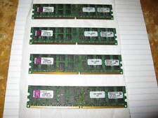 LOT OF 4.KINGSTON.KTM2865/8G 8GB (2x4GB) PC2-3200 DDR2-400 240PIN RAM total 16GB