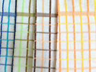 LARGE COTTON TERRY CHECK TEA TOWEL KITCHEN DISH DRYING CLOTH, PACK OF 4 TOWELS