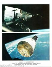 Photo Vintage Original de la Nasa Gemini 6/7 ( 023 )
