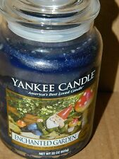 Yankee Candle 22 oz Large Jar Candle  New --- Enchanted Garden