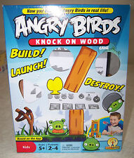 Angry Birds Knock on Wood Game #W2793 Mattel c.2010