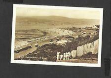 Nostalgia Postcard Devon. Exmouth Beach from Cliff Slopes 1930