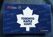 2013 Toronto Maple Leafs (FD38779) Tim Hortons Gift Card (no Cash Value)