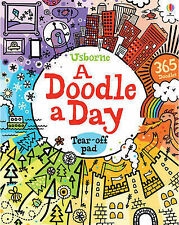 A Doodle a Day (Usborne Activity Pads), 1409564479, Very Good Book