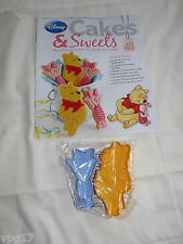 EAGLEMOSS DISNEY CAKES & SWEETS WINNIE  THE POOH & PIGLET COOKIE CUT  No 40  NEW