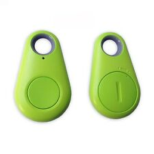 2 x Green Bluetooth Wireless Anti-lost Alarm Key Finder for iPhone Samsung Sony