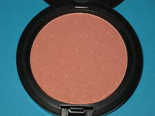 "MAC COSMETICS ""SASSED UP"" IRIDESCENT PRESSED POWDER, CORAL PINK GOLD SHIMMER"
