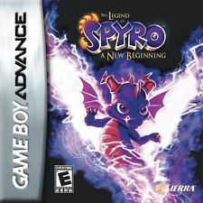 Legend Of Spyro: A New Beginning GBA New Game Boy Advance