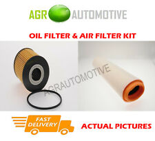 DIESEL SERVICE KIT OIL AIR FILTER FOR BMW 530D 3.0 193 BHP 2000-03