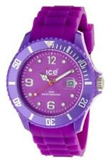 Ice-Watch Men's SI.PE.B.S.09 Sili Collection Purple Plastic and Silicone Watch
