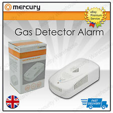 K3 Premium GAS LEAK DETECTOR Sensor Loud ALARM Flashing LED Methane Propane