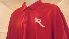 ROCAWEAR POLO SHIRT RED 3XL JAY Z RAP MUSIC SWAG PIMP FLY ROCK INDUSTRY CONCERT
