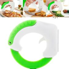 Chop und Roll Rundmesser Rollmesser für Gemüse Pizza Fleisch Obst Messer Küche