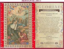 C10  SANTINO HOLY CARD S. SANTA RITA DA CASCIA MONACA AGOSTINIANA 22 MAGGIO