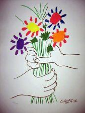 Pablo Picasso El ramo - Edicion limitada - Numerada a mano - SPADEM
