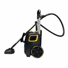 Steam Cleaning System Canister Floor Carpet Cleaner Vacuum Aid Mop Sweep GREAT!