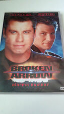 "DVD ""BROKEN ARROW"" COMO NUEVA JOHN WOO CHRISTIAN SLATER JOHN TRAVOLTA"