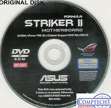 ASUS GENUINE VINTAGE ORIGINAL DISK FOR STRIKER II FORMULA Motherb DISK M1367