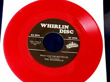 QUADRALLS~ WHAT CAN THE MATTER BE~ MINT~ RED WAX~ COME TO ME~ ~ DOO WOP 45