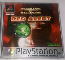 Red Alert [Command & Conquer]  PS1 PS2 [PS3 60 GB Compatible]  MINT CONDITION