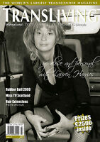 STOCK CLEARANCE TRANSLIVING TRANSVESTITE TRANSGENDER MAGAZINE 27 LAUREN HARRIES