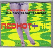 CD MAXI SINGLE 2 TITRES PROMO RED HOT AND RIO CRYSTAL WATERS BOY FROM IPANEMA