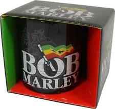 Bob Marley: Rasta Flag Mug Ceramic Coffee / Tea Mug - New & Official In Box