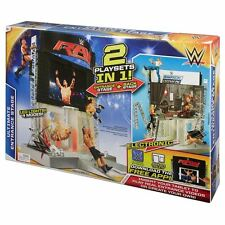 Mattel Wwe électronique ultimate entrance stage playset - 2 jeux en un-neuf
