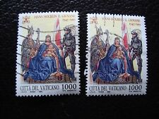 VATICAN - timbre yvert et tellier n° 967 x2 obl (A28) stamp
