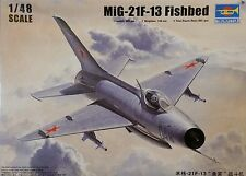 TRUMPETER® 02858 MiG-21 F-13/J-7 Fighter  in 1:48